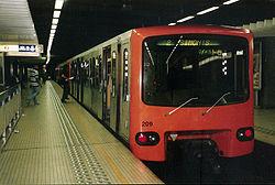Imatge relacionada amb metro
