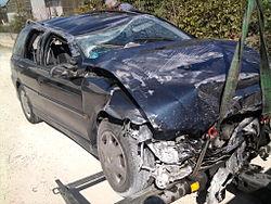 Imatge relacionada amb accident de trànsit