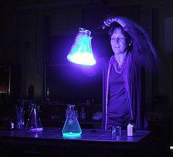 Imatge relacionada amb quimioluminescència