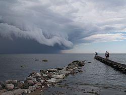 Imatge relacionada amb tempesta