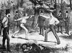 Imatge relacionada amb duel