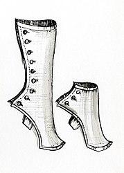 Imatge relacionada amb polaina