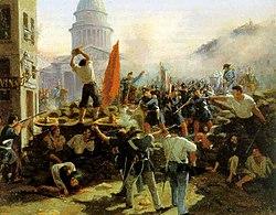 Imatge relacionada amb barricada