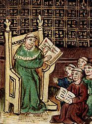 Imatge relacionada amb escolàstica