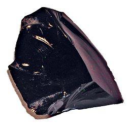 Imatge relacionada amb obsidiana