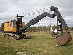 Imatge relacionada amb excavadora