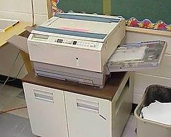 Imatge relacionada amb fotocopiadora