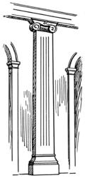 Imatge relacionada amb pilastra