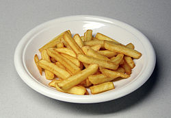 Imatge relacionada amb patates fregides