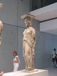 Imatge relacionada amb cariàtide