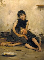 Imatge relacionada amb pobresa
