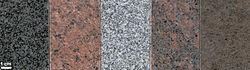 Imatge relacionada amb granit