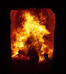Imatge relacionada amb cremació