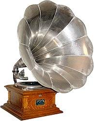 Imatge relacionada amb gramòfon