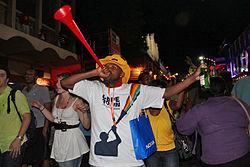 Imatge relacionada amb vuvuzela
