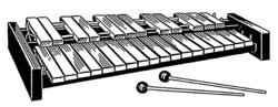 Imatge relacionada amb xilòfon