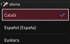 Configurar l'Android en català