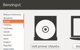 Configurar el Linux en català