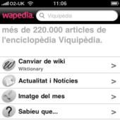 Wapèdia: una Viquipèdia mòbil, disponible en català