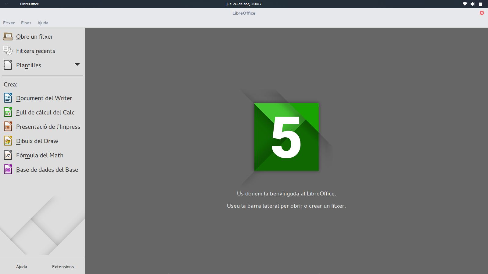 Imatge destacada 1 del LibreOffice