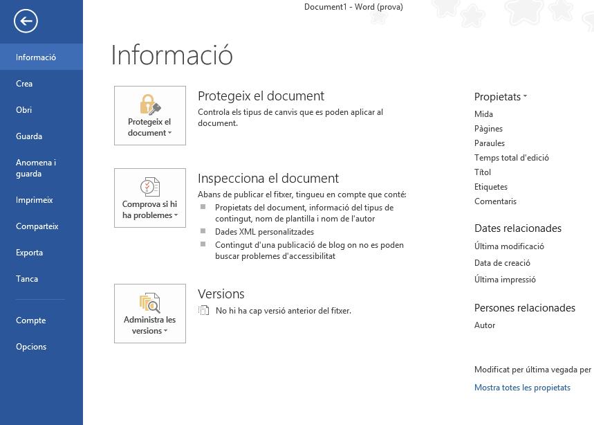 Imatge destacada 1 del Paquet català (valencià) per al Microsoft Office 2013