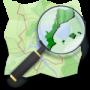 logotip Mapes en català (amb OpenStreetMap)