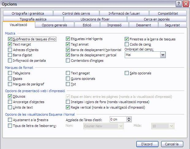 Imatge destacada 1 del Paquet català per al Microsoft Office 2003