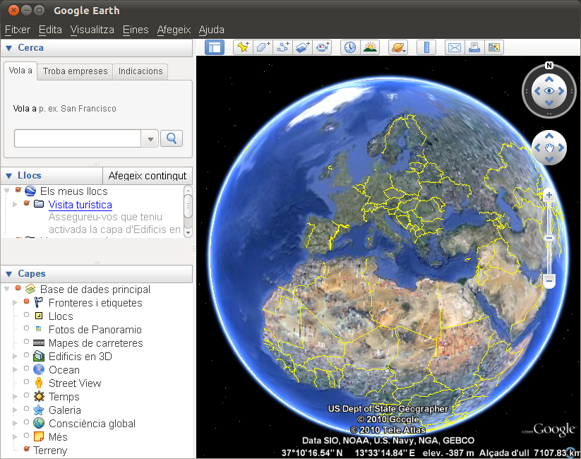 Imatge destacada 1 del Google Earth