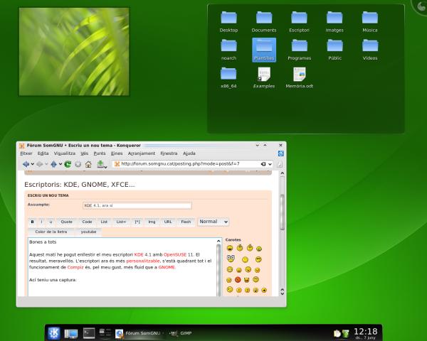 Imatge destacada 1 del OpenSUSE