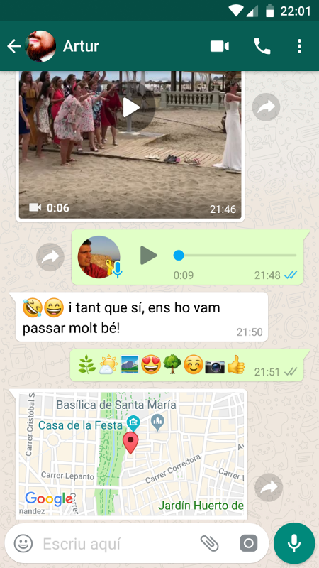 Imatge destacada 1 del WhatsApp Messenger
