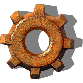 logotip Factorio