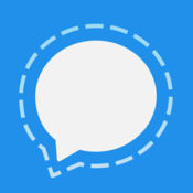logotip Signal Private Messenger