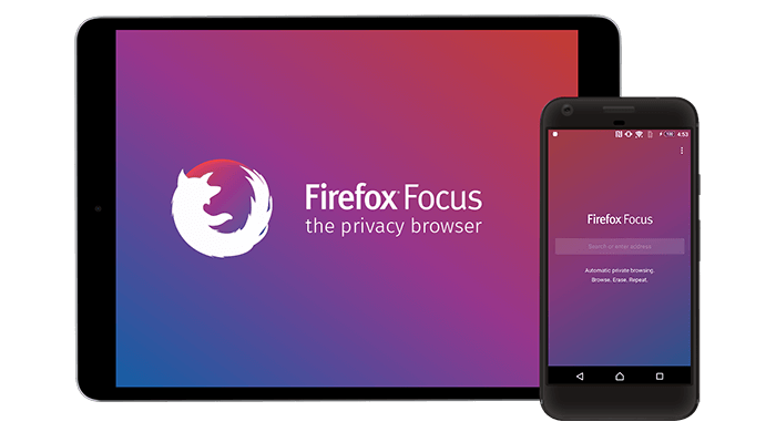 Imatge destacada 1 del Firefox Focus