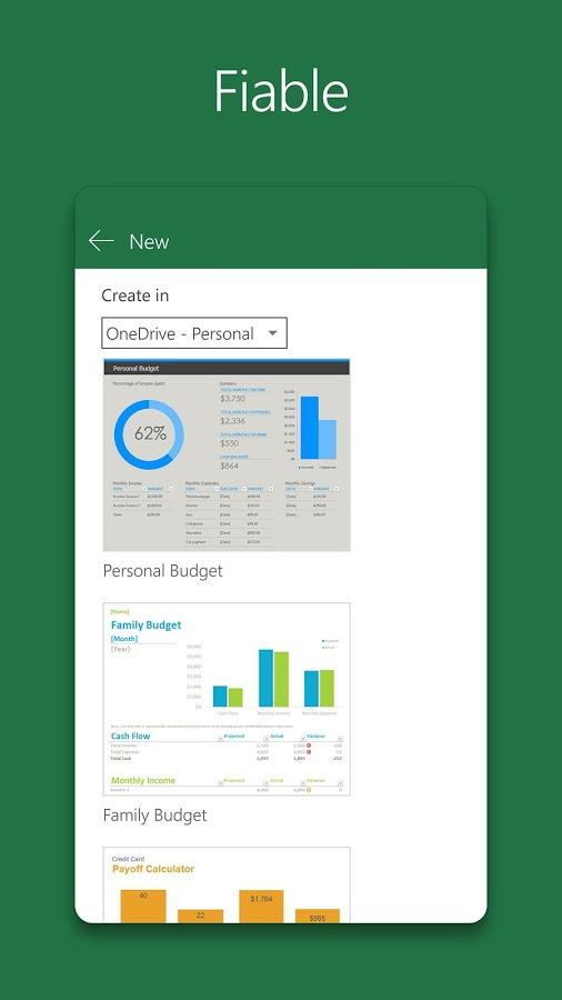 Imatge destacada 2 del Excel Mobile