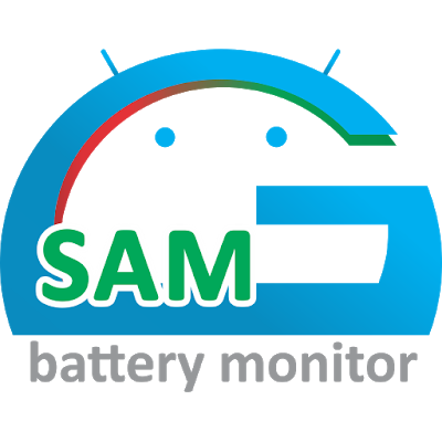 logotip GSam Battery Monitor