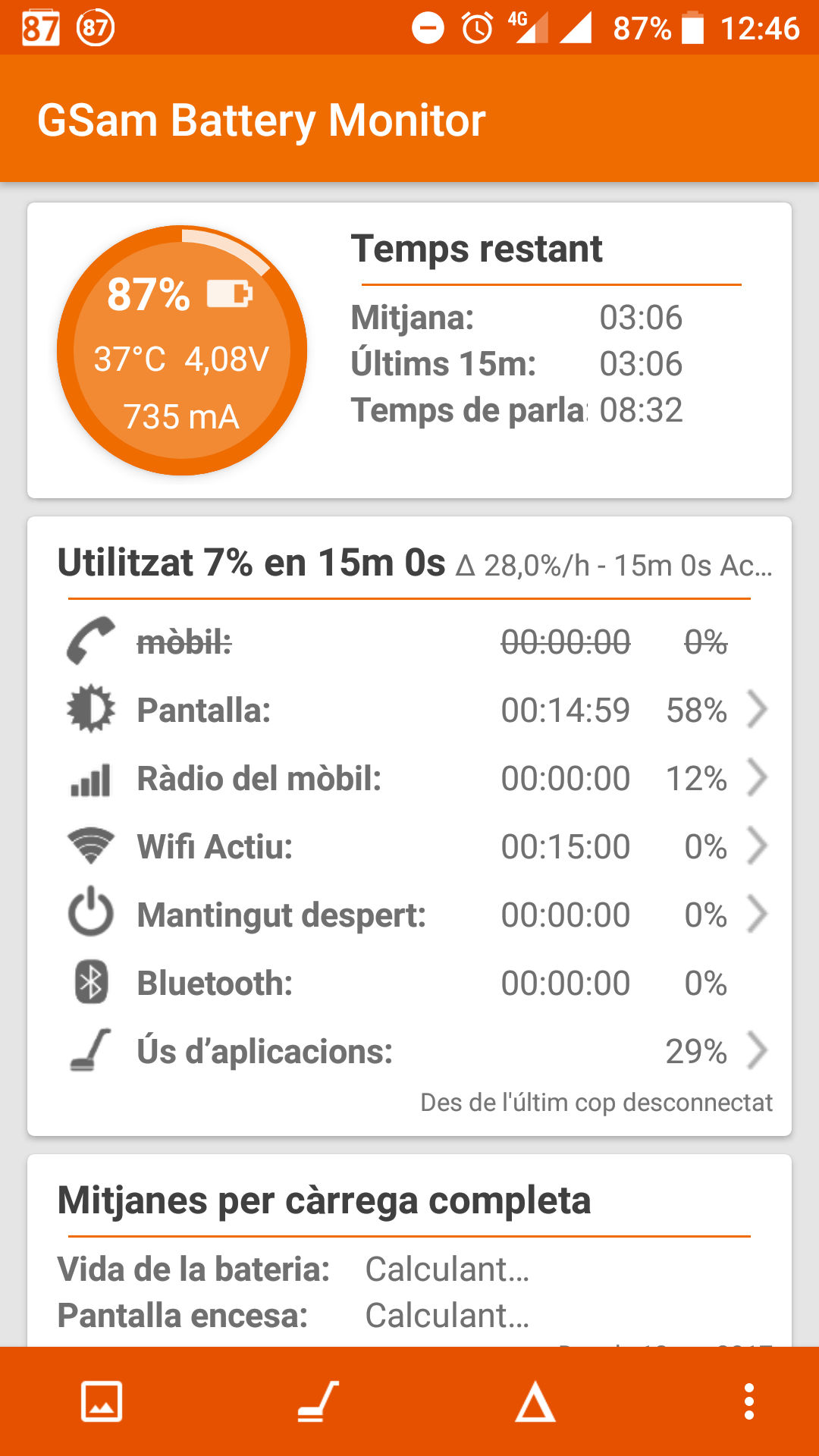 Imatge destacada 1 del GSam Battery Monitor