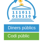 "logo Campanya ""publiccode.eu"" de la FSFE"