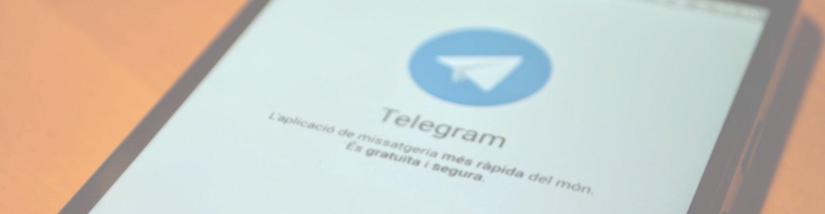 Grup de Telegram per a col·laboradors