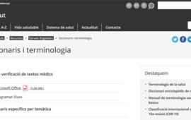 Softcatalà col·labora amb el Departament de Salut per a difondre la terminologia mèdica